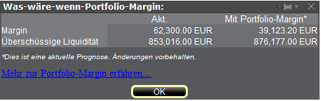 Hier erfahren Sie, wie Sie die Depotführungsart Portfolio-Margin testen können.