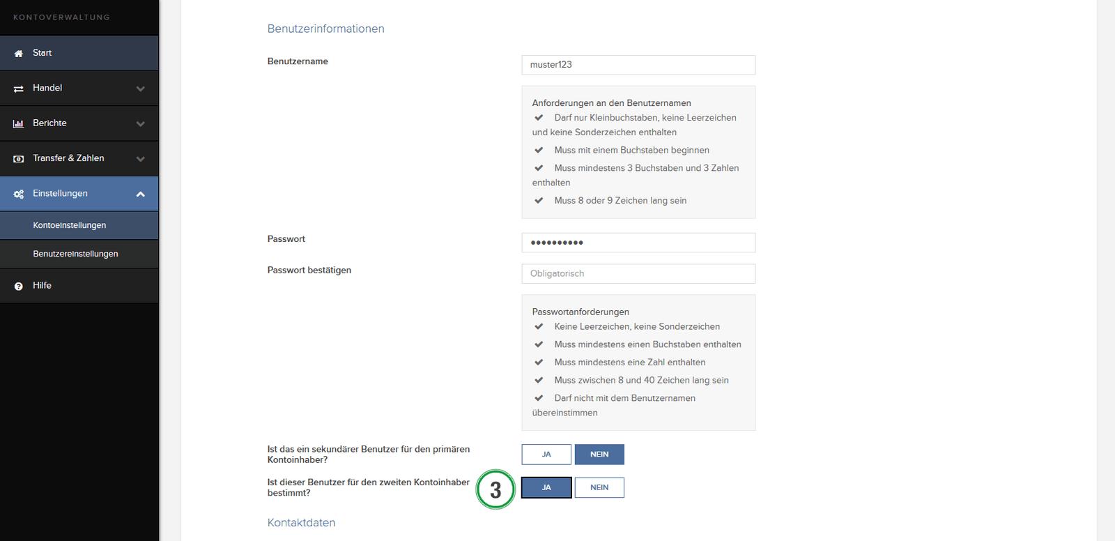 LYNX-Online-Handbuch-Kontoverwaltung-zweiter-zugang-gemeinschaftsdepot-3
